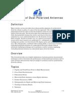 Basics of Dual-Polarized Antennas