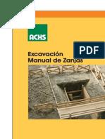 Excavacion Manual de Zanjas PDF