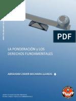 La Ponderacion y Los Derechos Fundamentales Abraham Zamir Bechara Llanos