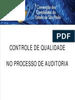 PAULO PEPPE - Controle de Qualidade No Processo de Auditoria
