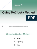 04-Chapter 4 - Quine-McCluskey Method