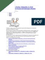 Cómo Probar Solenoides a y B de Control de Presion de Embrague