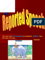 Reported Speech Fisrt Review