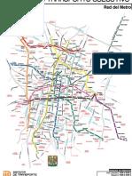 Metro Df Con Avenidas