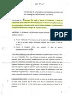 Convenio CTV Gobierno 1992