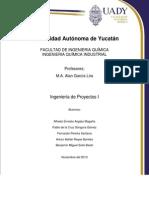 Proyecto Productivo Gomas. Benjamin Solis Arturo Reyes Fernado Pereira Alfredo Argaez Pablo Gongora