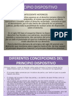 Principio Dispositivo Diapositivas