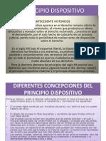 Principio Dispositivo Diapositivas
