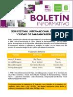 """XXII Festival Internacional de Piano """"Ciudad de Barrancabermeja"""""""