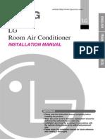 Lg Room Ac Installation Manual English