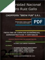 Administración VII - Choppería Brew Pub SRL