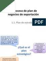 Proceso de Plan de Negocios de Exportacion