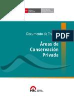 Áreas de Conservación Privada - Documento de Trabajo 10