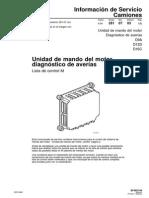 Lista M Unidad de Mando Del Motor
