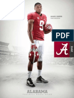 2014 Alabama Media Guide