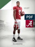 2014 Alabama Media Guide