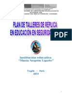 Plan Talleres de Réplica Pronacesvi