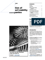 Tax Issues for LLCs