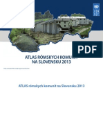 Atlas rómskych komunít na Slovensku 2013