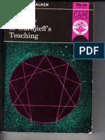 Kenneth Walker - A Study of Gurdjieff's Teaching