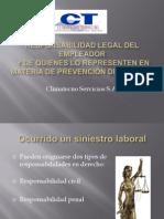 Responsabilidad Legal Del Empleador