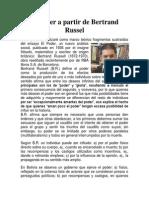 El Poder a Partir de Bertrand Russel