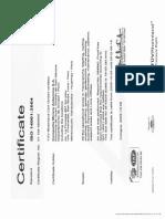 Certificado SGA