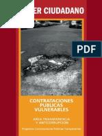 Contrataciones Públicas Vulnerables Poder Ciudadano