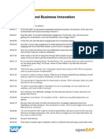 OpenSAP Sustainability Week 5 Transcripts