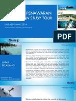 Proposal Penawaran Study Tour Karimunjawa Juni 2014