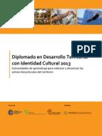 01 Dip Desarrollo Territorial Con Identidad Cultural 2013