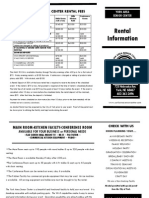 rental brochure 2013