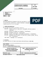 NBR 10098 - Elevadores Elétricos - Dimensões e Condições Do Projeto de Construção