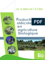 Guide Des Productions Oleicoles en AB