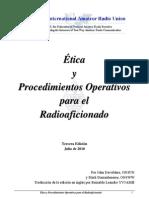 Etica y Procedimientos de Operacion
