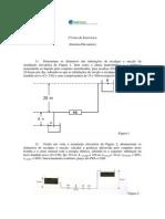 2ª Lista de Exercícios Hidráulica2014