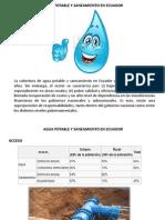 Agua Potable y Saneamiento en Ecuador