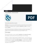 Instalacion de Word Press