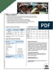 UNHCR Fact Sheet 2012