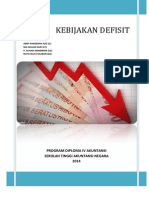 Anggaran Defisit II