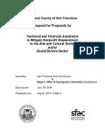 Nonprofit Displacement RFP