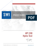 Swi Procedure API 598 Ph