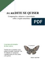 Curiosidades Sobre a Amazonia