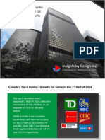 The Top 6 Canadian Banks - Selected Indicators of Q2 and YTD 2014 Results - DPershad