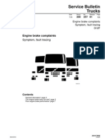 f. is.20. Quejas Sobre El Freno Motor. Edicion 1. (Ingles)