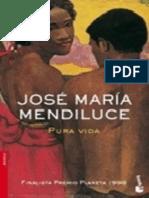 Pura Vida - José María Mendiluce