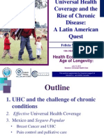 Universal Health Coverage and the Rise of Chronic Disease