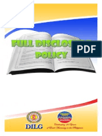 DILG Full Disclosure Policy