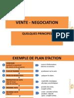 Vente - Negociation - Quelques Principes