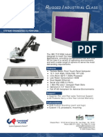 IMC-T121XGA Panel Mount Water Proof Touch Computer Datasheet